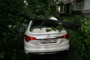 Последствия урагана в Кемерове