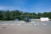 Авиадемонстрация воздушной техники МВД РТ в Казани