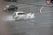 На Владимир обрушился проливной дождь