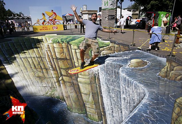 Отличный пример московского современного уличного искусства