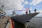 Корабли прибывшие на международный военно-морской салон 2015