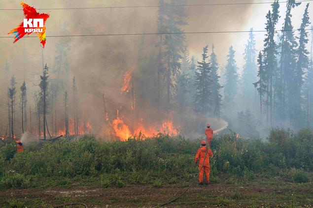 На тушение лесных пожаров в канадской провинции Саскачеван направлены полторы тысячи военных