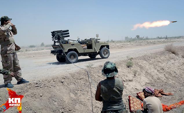 Армия Ирака начала освобождение захваченной боевиками Эль-Фаллуджи