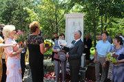 В амурском Райчихинске открыли памятник благоверному князю Петру и княгине Февронии