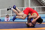 VI Российско- Китайские игры в Иркутске: вольная борьба