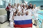 VI Российско- Китайские игры в Иркутске: водное поло