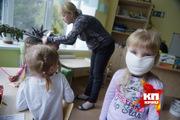Учебная эвакуация малышей из детского сада