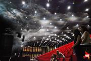 Учения пожарных в крупнейшем воронежском концертном зале