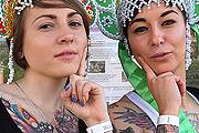В столице открылся Первый международный фестиваль татуировки Tatooweek