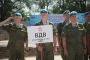 Отборочный этап Всеармейских игр под Воронежем