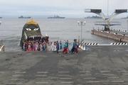 Владивосток традиционно отметил День Военно-морского флота