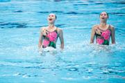 ЧМ по водным видам спорта-2015. Синхронистки. Женщины техническая программа дуэты