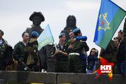 Десантники отмечают день ВДВ в Екатеринбурге