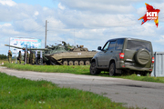 Мобилизационные сборы на Шиловском полигоне в Новосибирской области