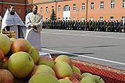 Как в столице отметили Яблочный спас (праздник Преображение Господне)
