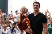 Тимофей Мозгов ответил на вопросы юных баскетболистов