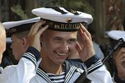 В Севастополе 225 первокурсников Нахимовского училища приняли военную присягу