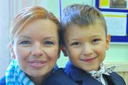 Звездные родители отвели детей в школу