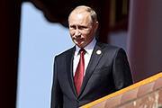Владимир Путин принял участие в китайском Параде победы