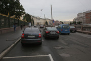 В центре Петербурга парковка стала платной