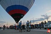 Воздухоплаватели установили разноцветные воздушные шары в центре Воронежа