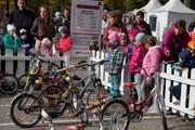 В пермском Парке Горького прошла детская велогонка от «Комсомольской правды»