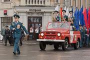 Московские пожарные и спасатели приняли участие в праздновании Дня города