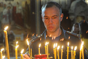 Спасатели МЧС помолились в Храме Христа Спасителя в честь праздника иконы Божией Матери «Неопалимая Купина»