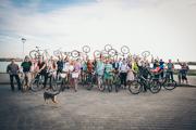 Велосипедная свадьба в Казани  23 сентября 2015 года
