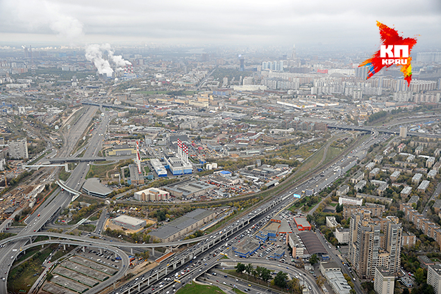 """Корреспондент """"Комсомолке"""" увидел Москву с крыши самого высокого здания Европы"""