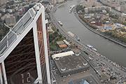 Корреспондент «Комсомолке» увидел Москву с крыши самого высокого здания Европы