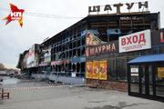 В Новосибирске сгорел авторынок «Горский» и гриль-бар «Шатун»