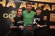 Чемпион Европы по боксу Игорь Михалкин встретился с юными спортсменами