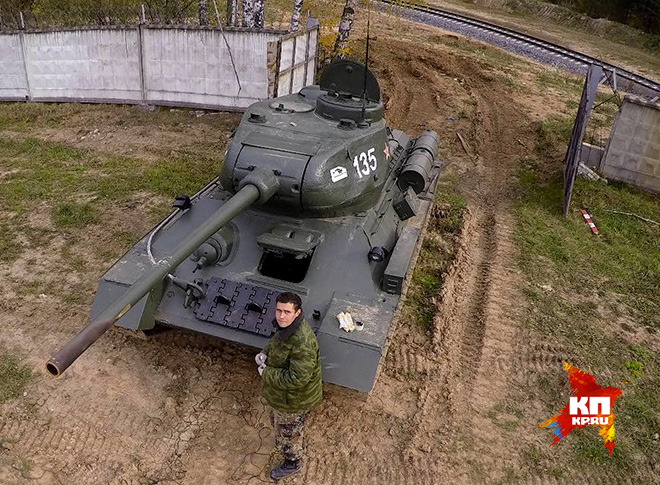 "В танковом музее ""Кубинка"""
