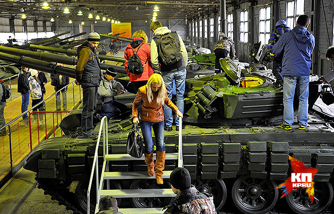В танковом музее «Кубинка»