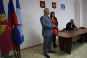 Виктор Хрестин поздравил коллектив ДРСУ с юбилеем