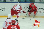 Матч КХЛ: «Автомобилист» 3-2 «Спартак»