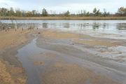 В Саратове спасатели очистили Гуселку от нефти