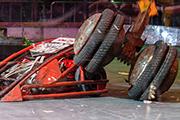 В павильоне «Космос» на ВДНХ прошла битва роботов «Бронебот 2015: Осенний разогрев»