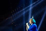 С новой программой «Поет любовь» в Минске выступила Ева Польна
