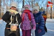 «Комсомольская правда» и первоклассники гимназии № 12 развесили кормушки для птиц