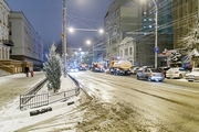 Ноябрьский снегопад в Саратове и Энгельсе