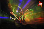 Гала-концерт фестиваля светового шоу «Огни Сибири» в Новосибирске