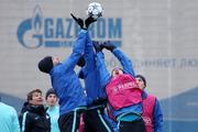 «Зенит» тренируется перед матчем Лиги чемпионов с «Валенсией»