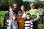 «Жемчужные» юбиляры Марианна и Андрей Лисицины воспитали шестерых детей