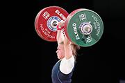 Россиянка Тима Туриева завоевала серебряную медаль чемпионата мира по тяжелой атлетике в американском Хьюстоне в весовой категории до 63-х килограммов.
