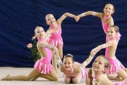 В Волгограде прошло первенство по эстетической гимнастике