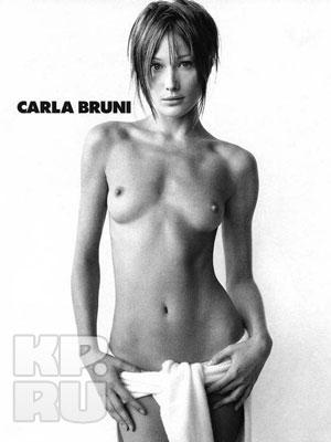 Карла Бруни Саркози (Karla Bruni Sarkozy) обнаженная первая леди Франции.