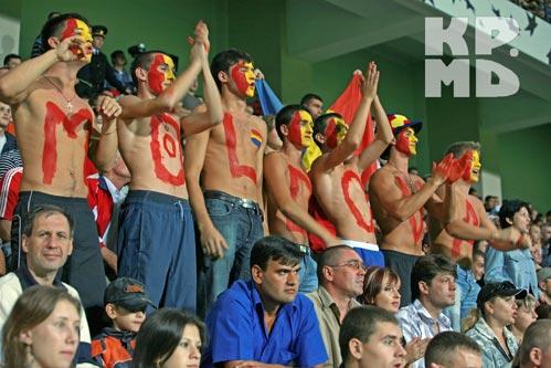 УЕФА в понедельник рассмотрит поведение болельщиков на матче Молдавия - Россия