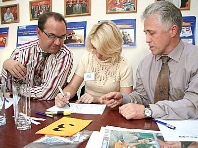 Творческое задание команда «Рублевка» выполняет с легкостью